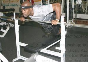Bench Press Pushup