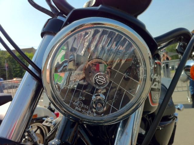 H D headlamp