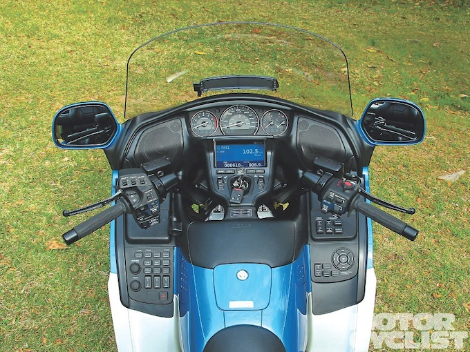 GoldWing cockpit